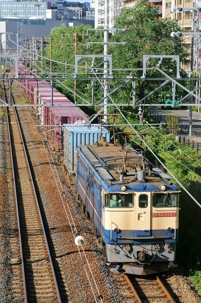 Photos: 74レ【EF65 2087牽引】