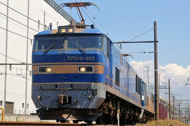 2077レ【EF510-503+EF210ムド】