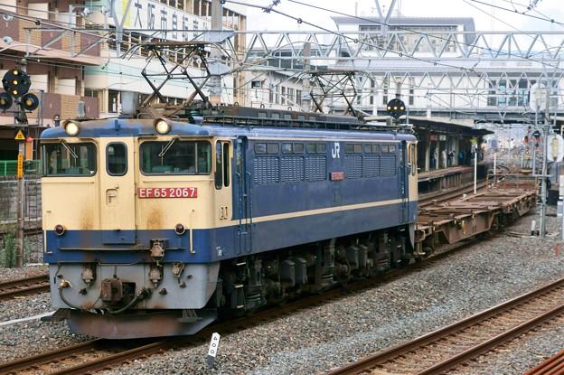 配1792レ【EF65 2067牽引】
