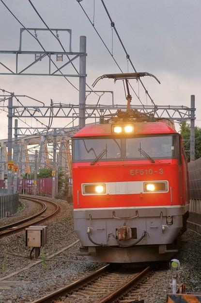4076レ【EF510-3牽引】