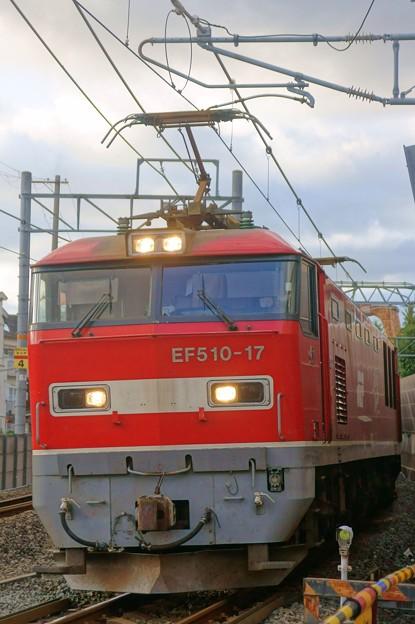 4076レ【EF510-17牽引】