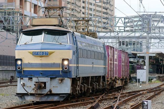 83レ【EF66 27牽引】