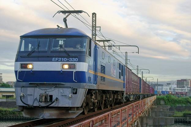 2065レ【EF210-330牽引】