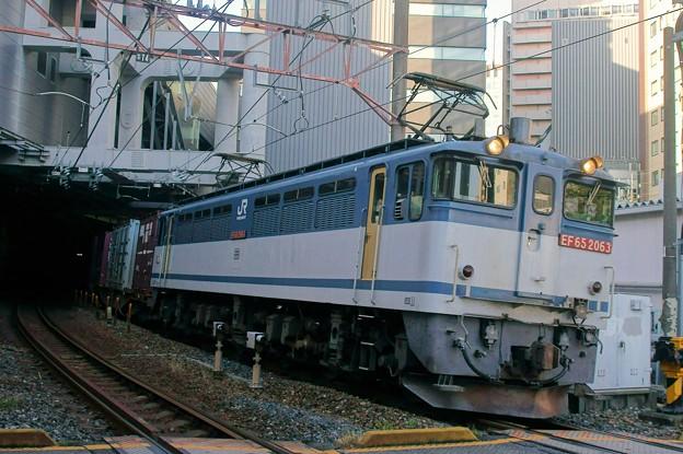 74レ【EF65 2063牽引】