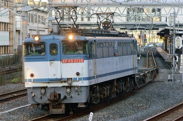 配1792レ【EF65 2138牽引】