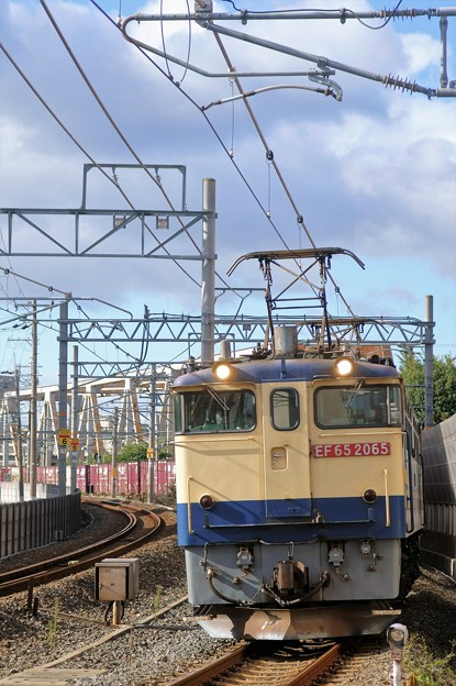 5087レ【EF65 2065牽引】