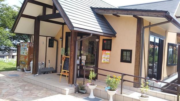 東松山農林公園のカフェで一息