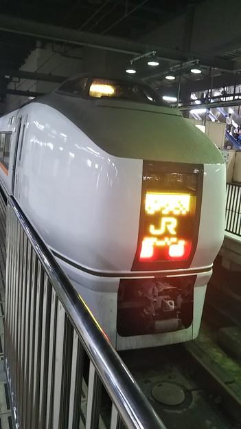 特急乗って上京しましたよ