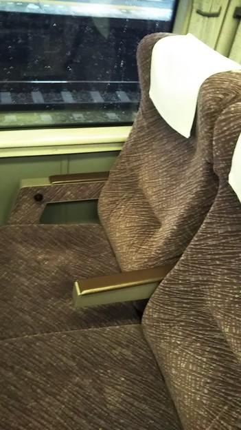 651系スワローあかぎの座席