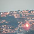 夕陽が最後まであたる街