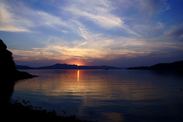 室津半島に陽は沈む