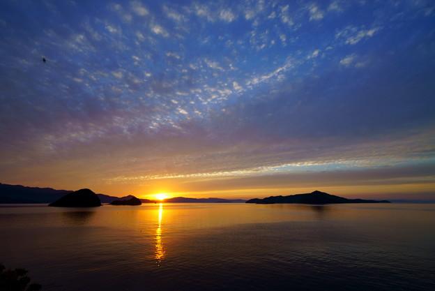 夕陽は沈む