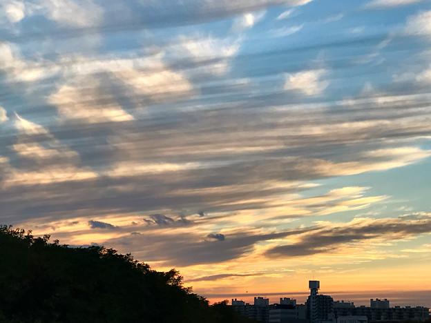 不思議な夕空