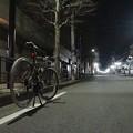 Photos: 自転車と夜景