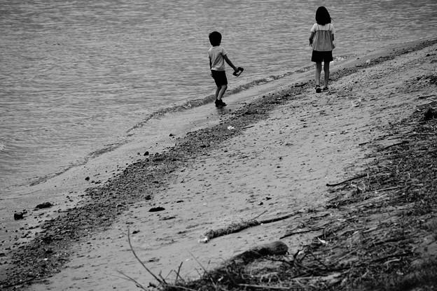 Photos: 梅雨明けの浜辺