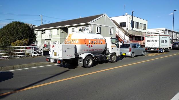 bulk L.P.G. tank truck