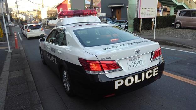 toyota crown policecar (kanagawa)