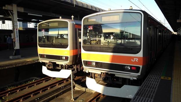 E231s @ Nishifunabashi
