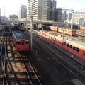 Kiha 47s @ Okayama DMU Depot