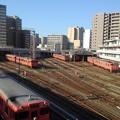 Kiha 47s @ Okayama yard