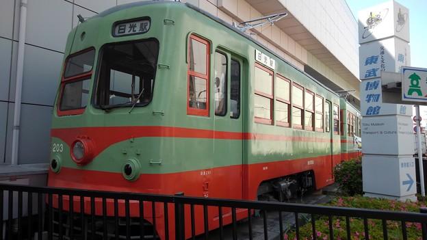 Tobu Nikko Tramway 200 articulated [heritage]