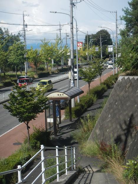 Nagoya Guideway Bus (8) manual steering section
