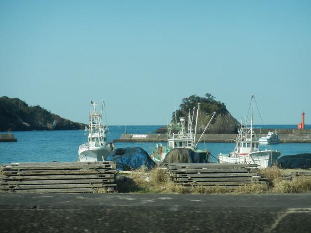 西伊豆の漁港