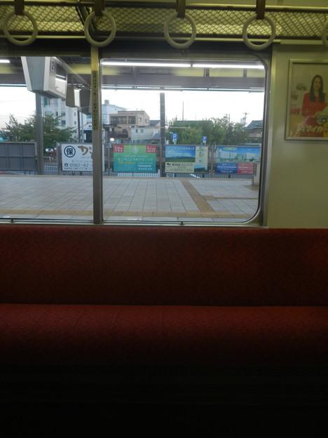 Kintetsu commuter train windows