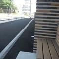 Photos: 市保健セ・ベンチの段差
