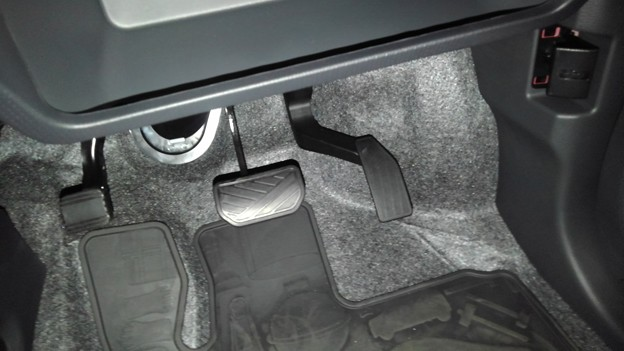 Suzuki Hastler , parking brake & release
