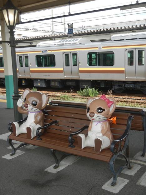 新津駅 (おこじょ)