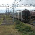 Photos: GV-E400 Ban'etsu West Line dep