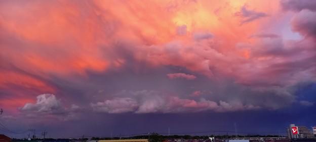 虹後の空2
