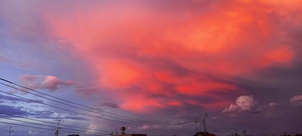 虹後の空3