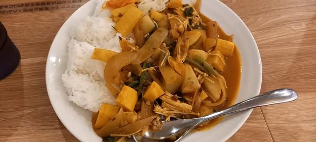 野菜カレー(昼)
