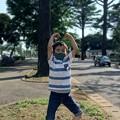 Photos: 妹(車)とomi2