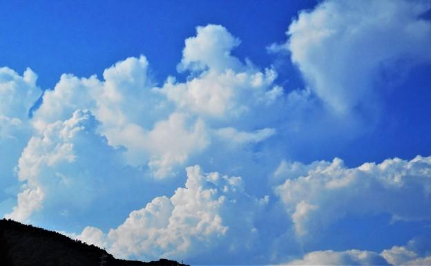 雲の峰2021@午後の北の空にモクモクと入道雲@積乱雲