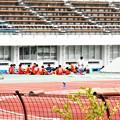 明日(日)は試合かな~@陸上競技場@びんご運動公園