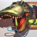 狂暴な恐竜がガオ~~ッ!@真夏のトリックアート展