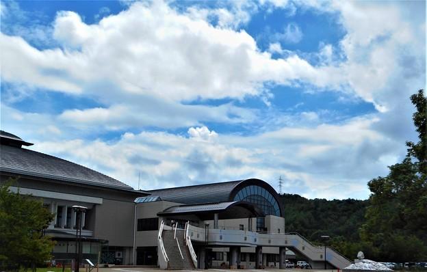 久々の青い空・白い雲@びんご運動公園21.9.4