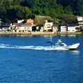 DSCN1636-2白い釣り船@大漁祈願@瀬戸内海21.10.15●●