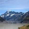 フッカー氷河湖