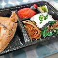 花水木 ( 成増 ) 煮魚弁当( 子持ちカレイ = お持ち帰り )   2021/03/05