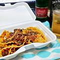 成増 テイクアウト イタリアン unita ウニタ 熊肉の赤ワイン煮込み マファルデ ( 部屋呑み ) 2021/03/13