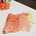 成増 ランチ イタリアン unita ウニタ ガチョウのハムとマッシュポテト ( 前菜 ) 2021/07/10