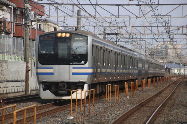 総武線 E217系 快速