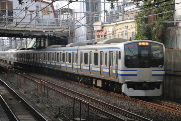 総武本線 E217系 快速