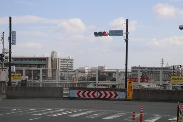 新川崎駅 駅前の交差点