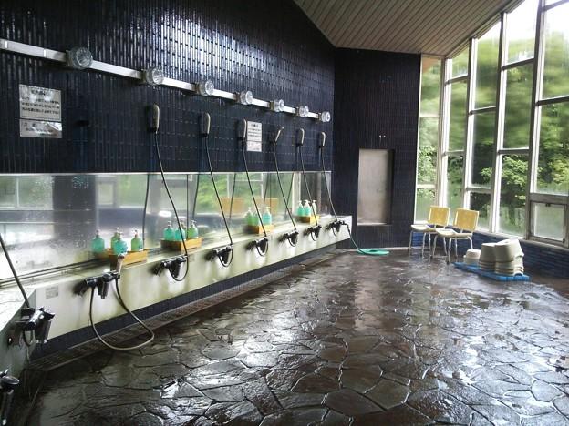 旧・千葉市高原千葉村 ロッジ大浴場