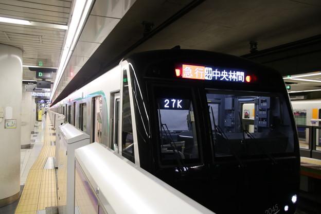 東急電鉄2020系 押上駅停車中